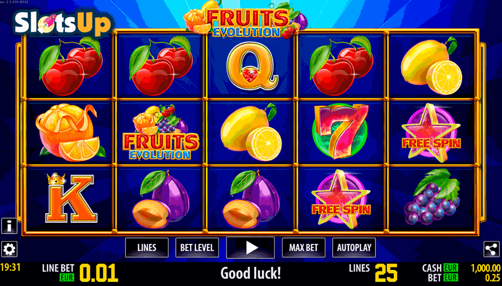 Free spins Fruits 339309