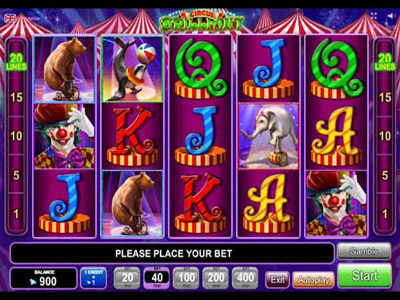 Circus free spins 234953